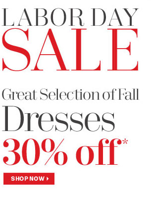 Now is the time to get a new fall dress - 30% off