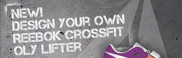 New! Design Your Own Reebok CrossFit OLY Lifter
