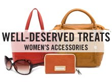 The Labor Day Women's Accessories Sale