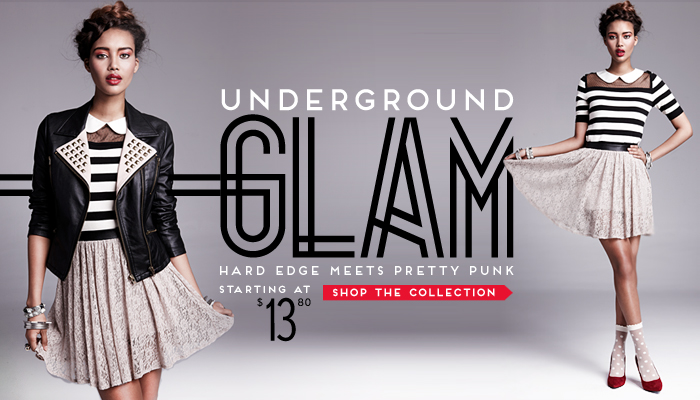 Underground Glam - Shop The Collection
