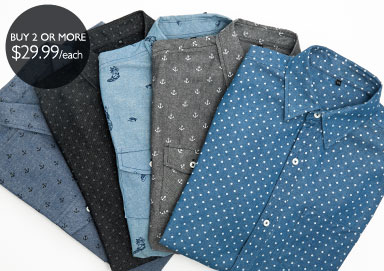 Shop Premium Button-Downs