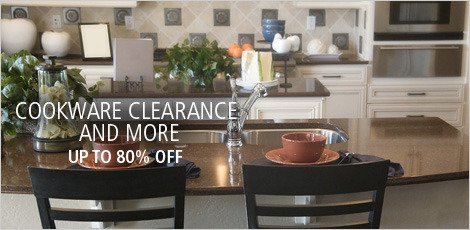 Cookware Clearance & More