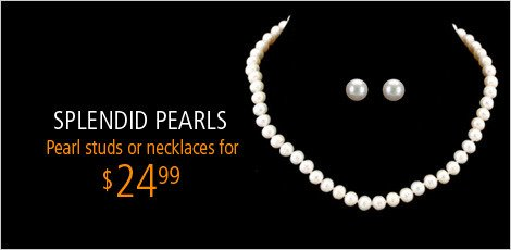 Splendid Pearl Pendants and Earrings