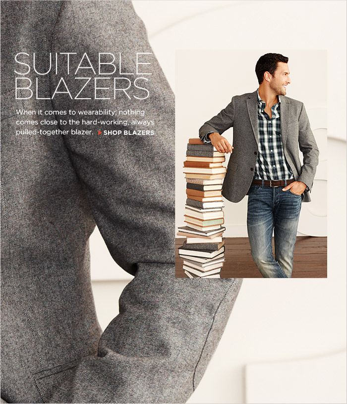 Suitable Blazers | When it comes to wearability, nothing comes close to the hard-working, always pulled-together blazer. | Shop Blazers