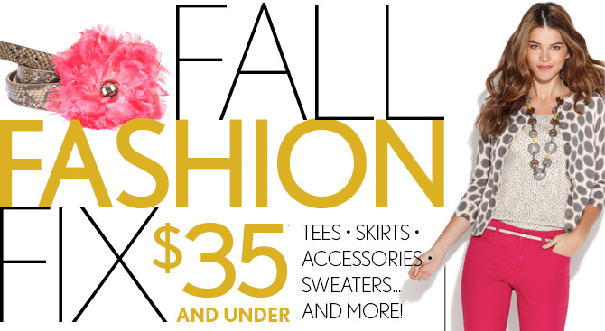 FALL FASHION FIX