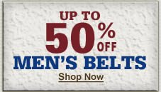 All Men's Belts