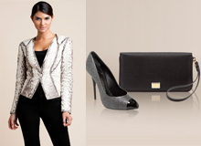 The Luxe Tailored Wardrobe: Bally, Just Cavalli, & More