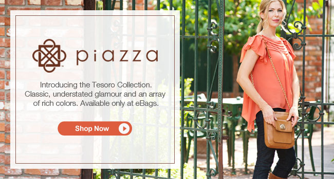 Introducing the Piazza Tesoro Collection. Shop Now