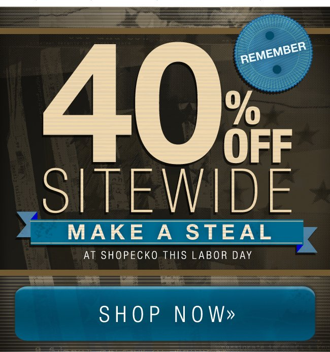 40% Off Sitewide At Ecko.com This Labor Day Weekend