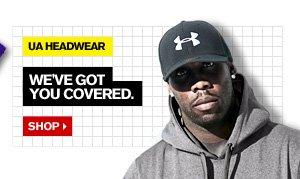 UA HEADWEAR - WE'VE GOT YOU COVERED. SHOP.