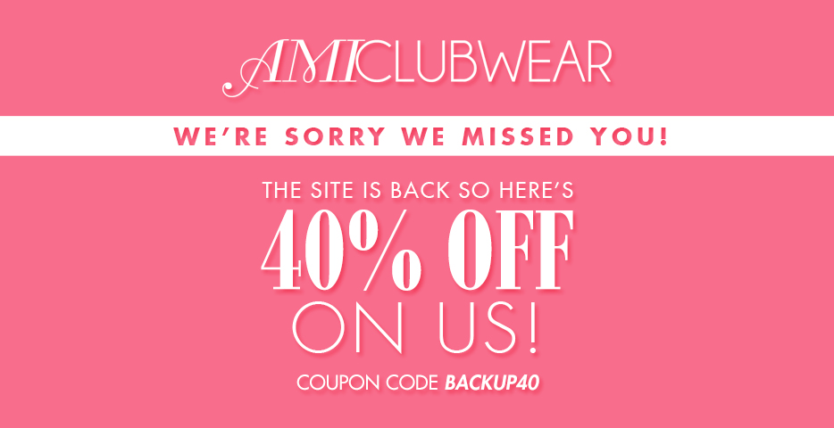 45% Off Everything at AMI Clubwear!