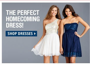 THE PERFECT HOMECOMING  DRESS