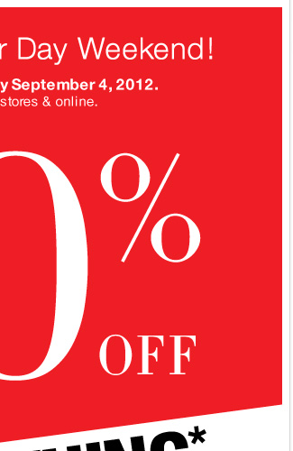 Celebrate Labor Day Weekend - Sale through September 4th 40% off Everything!  Shop Now