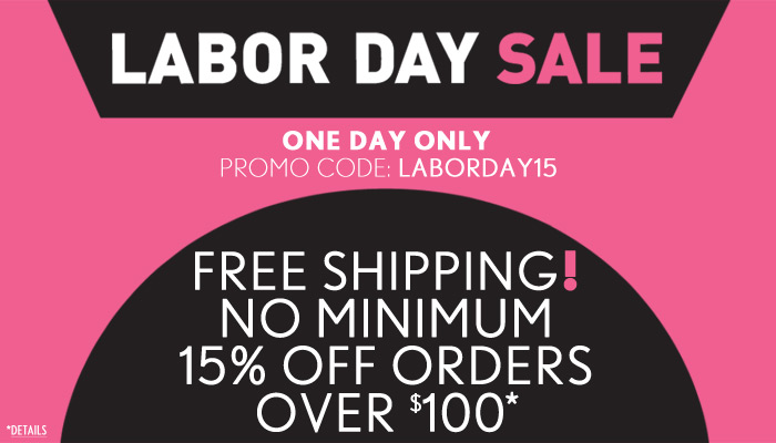 Free Shipping! No Minimum - One Day Only - Shop Now