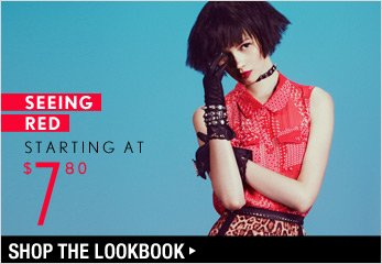 Seeing Red Starting at $7.80 - Shop The Lookbook