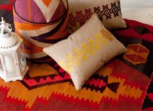 Faraway Spaces: Tapestry-Woven Kilim Rugs