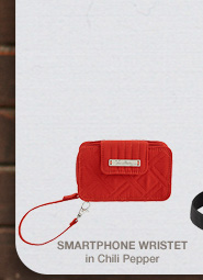 Smartphone Wristlet in Chili Pepper