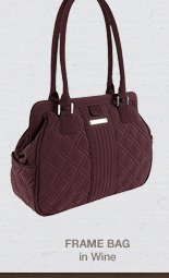 Frame Bag in Wine