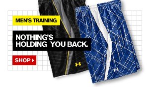 MEN'S TRAINING - NOTHING'S HOLDING YOU BACK. SHOP