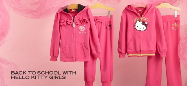 BACK TO SCHOOL WITH HELLO KITTY GIRLS, Event Ends September 7, 9:00 AM PT >