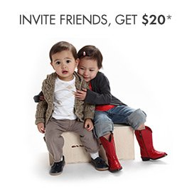 Invite friends and get $20!