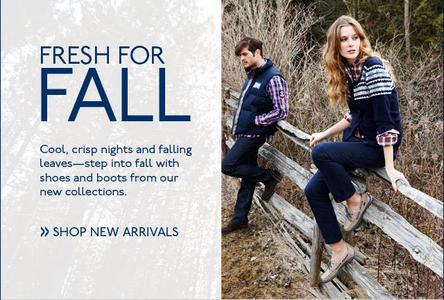 Fresh For Fall