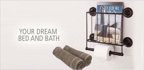 Your Dream Bed and Bath