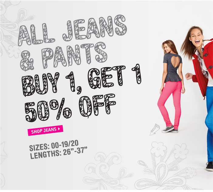 NEW! dELiA*s JEANS GUIDE! ALL 