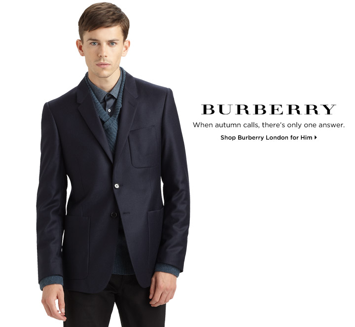 Shop Burberry London for Him