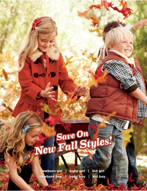 Save On New Fall Styles!