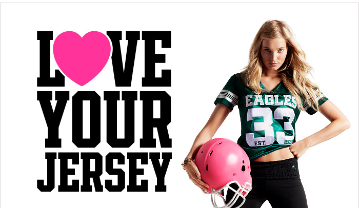LOVE YOUR JERSEY