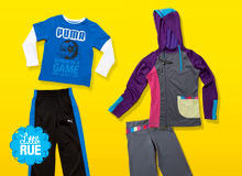 Play Clothes: Kids' Sneakers & Activewear