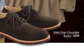 Walk-Over Chocolate Bucks | $259