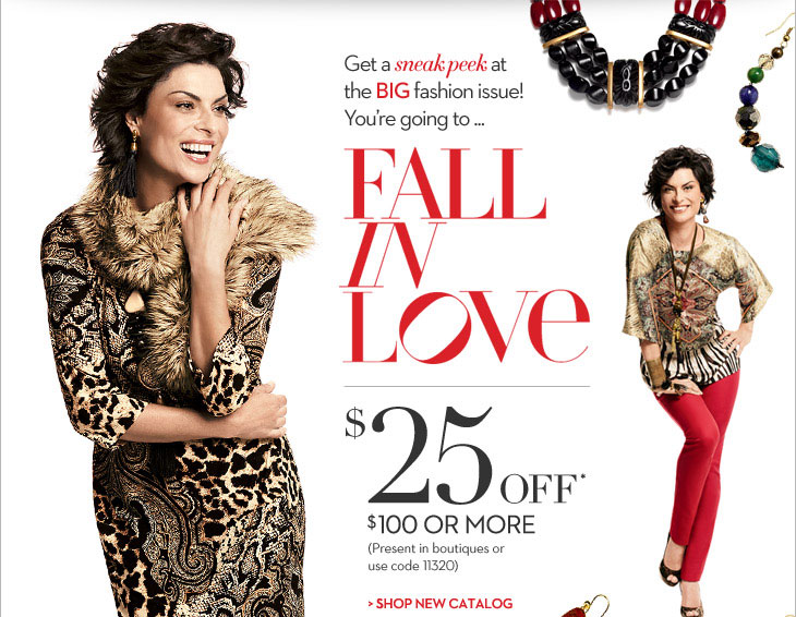 Get a sneak peek at the BIG fashion issue!