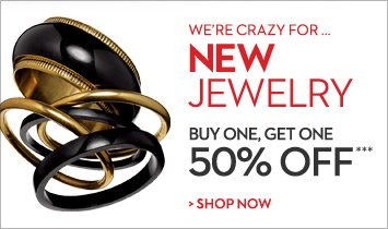 We're crazy for...NEW JEWELRY