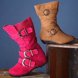 Style Steppers: Girls' Boots