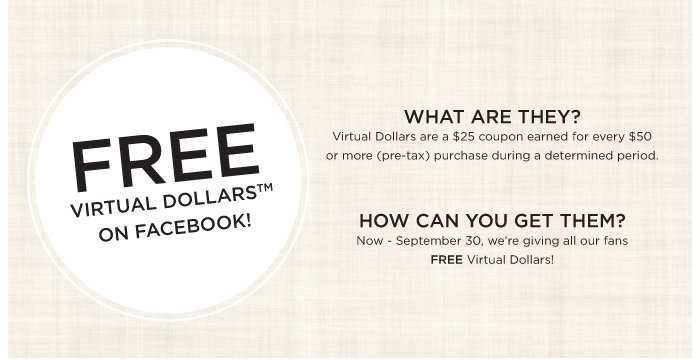 FREE VIRTUAL DOLLARS ON FACEBOOK
