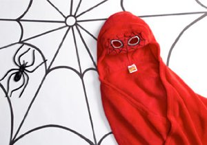 Batman, Spiderman & Hello Kitty: Hooded Blankets