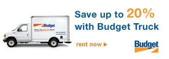 Save up to 20% with Budget Truck | rent now