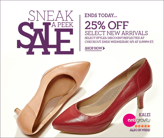 Click here to shop Sneak a Peek Sale