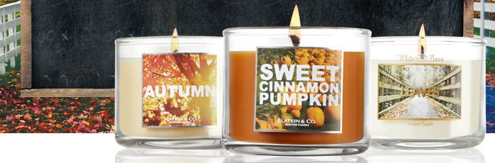 FREE MINI CANDLE WITH ANY PURCHASE OF $10 OR MORE*