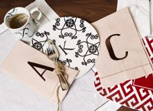Make It Personal Monogrammed Homewares