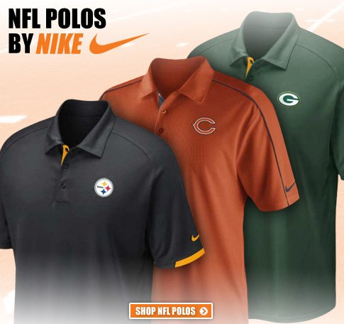 Shop New NFL Polos from Nike