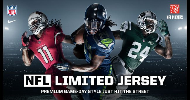 NFL LIMITED JERSEY | PREMIUM GAME-DAY STYLE JUST HIT THE STREET