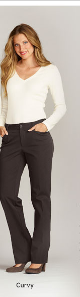 Shop Curvy Fit Pants