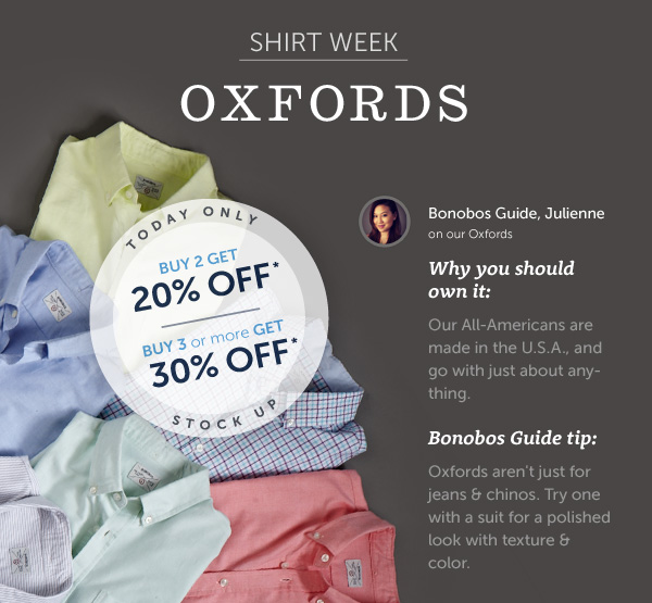 Shirt Week: Oxfords