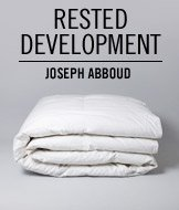 Rested Development. Joseph Abboud.