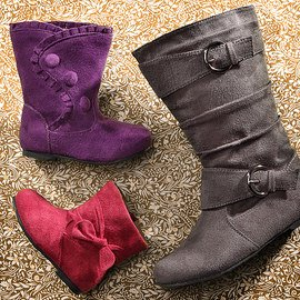Fashionable Footprints: Girls' Boots