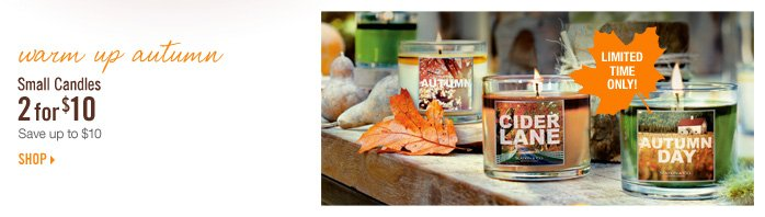 Small Candles - 2 for $10