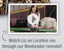 Watch Liz on Location run through our Weekender remodel!